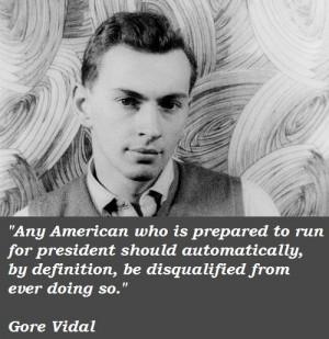 Gore vidal famous quotes 2