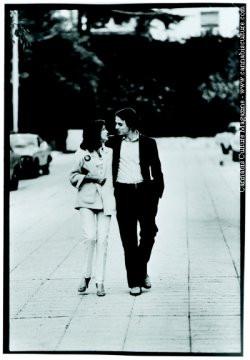 Ann Druyan and Carl Sagan.