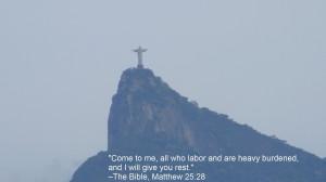 Quotes Brazil Bible Jesus Christ Rio De Janeiro Cristo Redentor /
