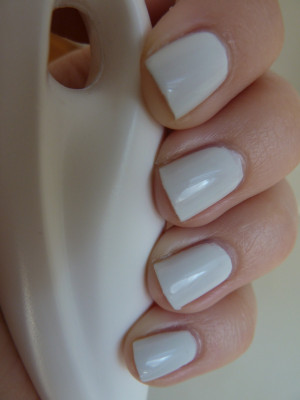 ... how that pulls out the gray tones in the polish. Pretty sneaky, OPI