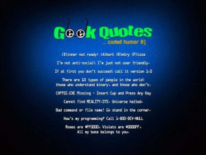 Geek Quotes!!!