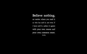... believe doubt philosophy life 1680x1050 wallpaper People Life HD