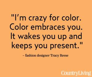 Peek inside fashion designer Tracy Reese's color-filled farmhouse ...