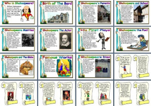 Famous Authors - William Shakespeare Price: £2.00