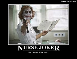 The Joker Crazy Nurse Joker