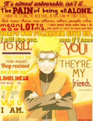 Naruto quotes sad wallpapers