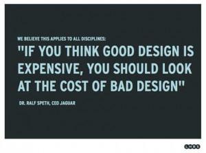 good design/bad design