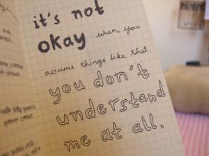 true! no one understands me.