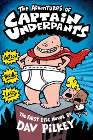 """... by marking """"The Adventures of Captain Underpants"""" as Want to Read"""