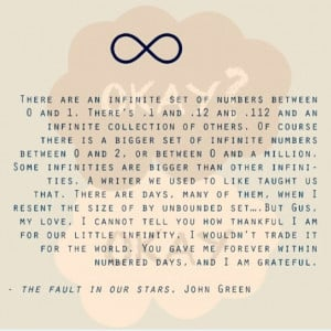 Tfios quote- Augustus Water's eulogy
