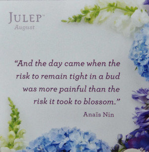 Julep's August Quote of the Month
