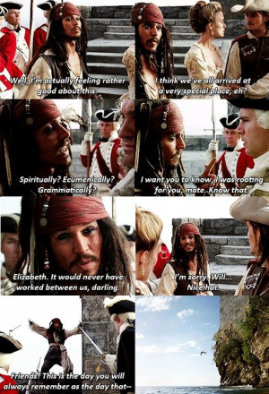 pirates of the caribbean quotes | Pirates of the Caribbean: The Curse ...