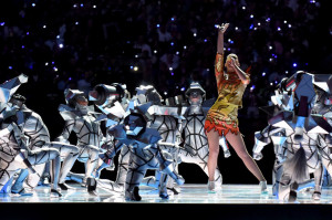 katy perry sets the super bowl aglow with her wild half time show
