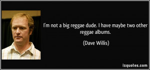 not a big reggae dude. I have maybe two other reggae albums ...