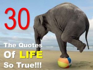 30 QUOTES Of LIFE SO TRUE!!!