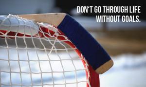 Discipline Is The Bridge Between Your Hockey Goals And Hockey Success.