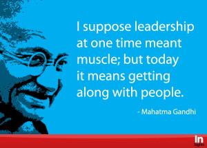 Leadership - Mahatma Gandhi