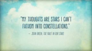 Quotes From The Fault In Our Stars Quotes from the fault in our
