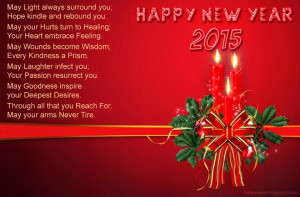 Beautiful Happy New Year 2015 Poem Quotes