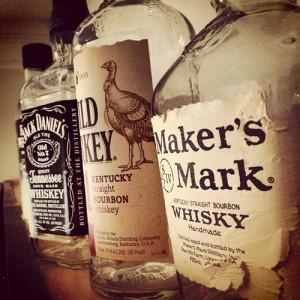 alcohol whiskey jack daniels whisky bourbon wild turkey makers mark