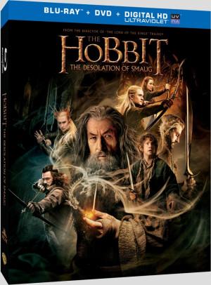 The Hobbit: The Desolation of Smaug (US - DVD R1 | BD RA)