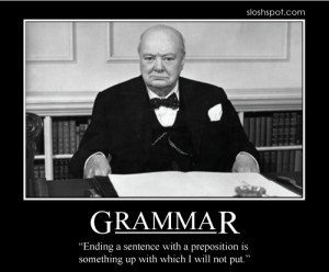 Bad grammar is like double redundancy for the second time around times ...