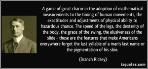 game of great charm in the adoption of mathematical measurements to ...