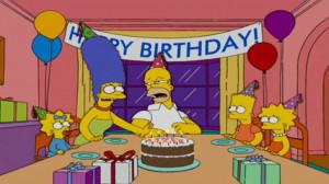 happy birthday homer simpson quotes