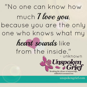 Grief Quote: No One Can Know