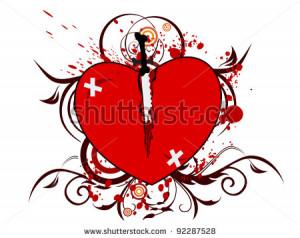 knife block broken hearts are created equal knife broken heart knife ...