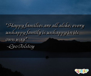 Happy Family Quotes