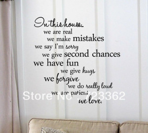 this-house-we-are-patient-we-love-Vinyl-wall-art-Inspirational-quotes ...