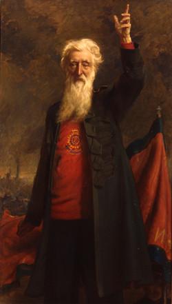 Portrait of General William Booth, Noel Denholm Davis, Oil on Canvas ...