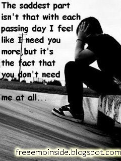 Sad - quotes Photo
