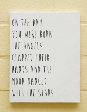 Baby Nursery Canvas, Baby Quotes & Sayings, Modern Baby Room Decor ...