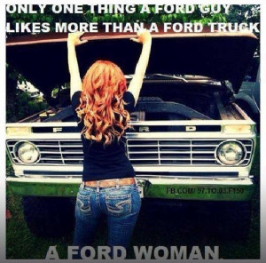 Ford woman but love my dodge man