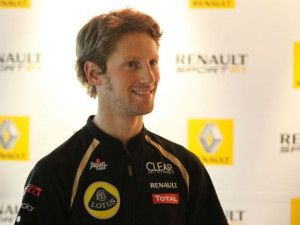 Romain Grosjean took 7th place at the 2012Singapore GP