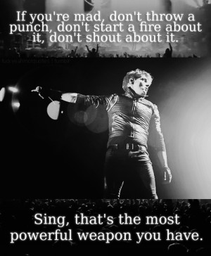 my chemical romance quotes | Tumblr