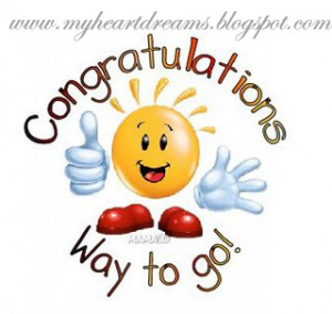 You havelanded your DREAM JOBCongratulation and Good Luck