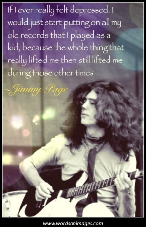 Jimmy page quotes...