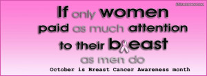 Our site has hundreds off breast cancer awareness - quote facebookc ...