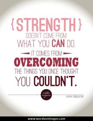Motivational Fitness Words For Strength