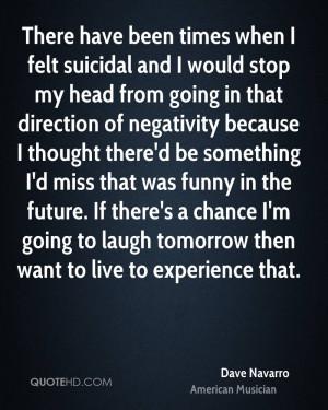 Dave Navarro Funny Quotes
