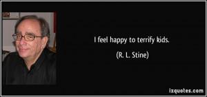 More R. L. Stine Quotes