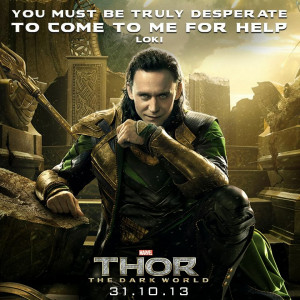 This show could easily be known as Thor 2 - We Love LOKI.