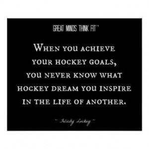 Hockey Quotes Posters & Prints