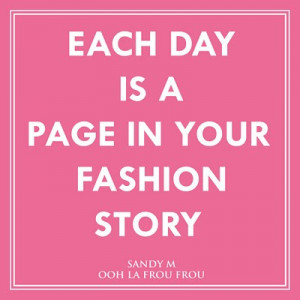 fashion story quote- pinterest