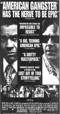 American Gangster Movie Quotes The quotes game has a definite