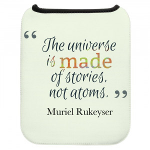 Universe Quotes Tablet Sleeve