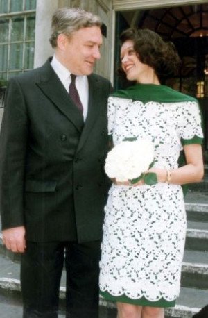 Conrad Black, 47 and his new wife Barbara Amiel, 51 at Chelsea ...
